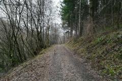 Der Weg führt Richtung Riveris