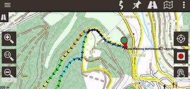 Mit dem GPX-Track undOruxMaps kann jeder auf den Ruwerpfaden navigieren