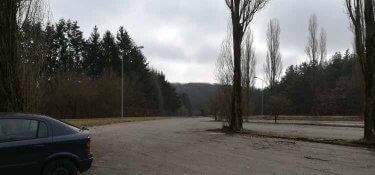Der Parkplatz am Grüneberg